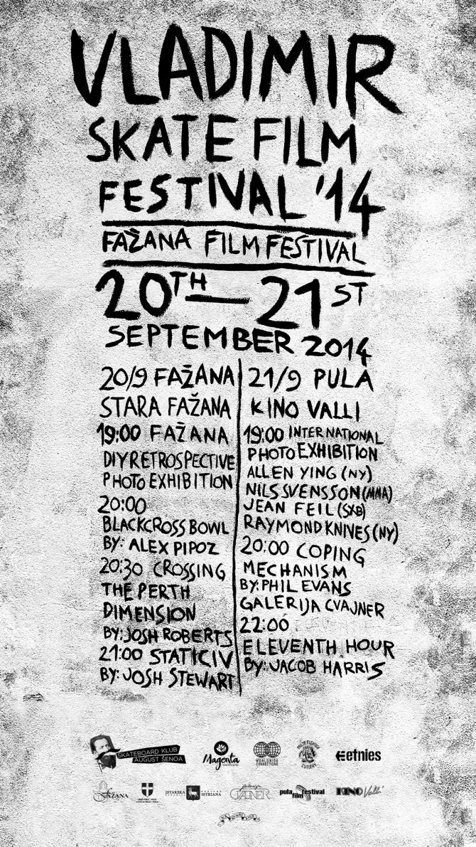 Plakat Vladimir film festival 2014 novo