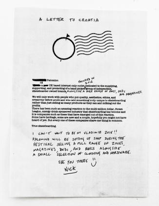 Letter-To-Croatia