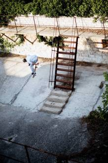 Dillon Catney, backside nollie 360 flip, Barbariga.