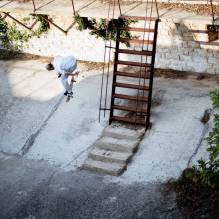 Dillon Catney, backside nollie 360 flip, Barbariga.
