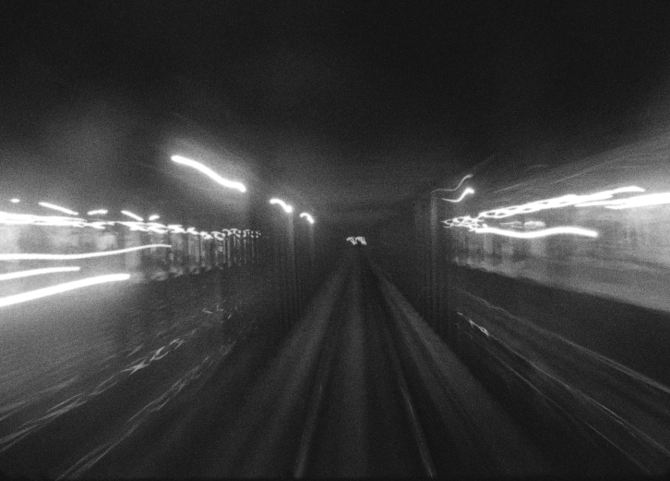 16MM STILL-TUNNEL SHOT
